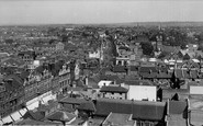 Croydon, View From Town Hall Tower c.1954