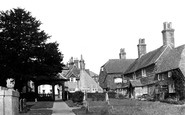 Cuckfield, Church Cottages c.1950