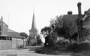 Cuckfield, Entrance To Village c.1950