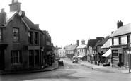 Cuckfield, High Street And The Clock c.1950