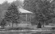 Darlington, Bandstand, South Park 1898