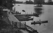 Darlington, Bat Hire And Jetty, The Lake 1925