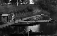 Darlington, Boats On South Park Lake 1925