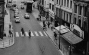 Darlington, Bondgate Zebra Crossing c.1965