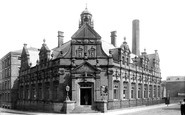 Darlington, Edward Pease Free Library, Crown Street 1893