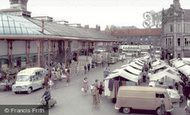 Darlington, Market Place c.1965