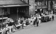 Darlington, Market Stalls c.1965