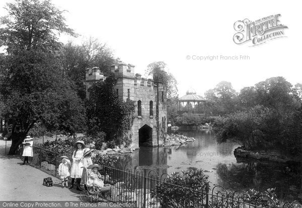 Darlington, North Lodge Park 1911