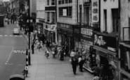 Darlington, Shops In Northgate c.1965