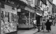 Darlington, Shops In Post House Wynd c.1965