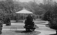 Darlington, South Park Bandstand 1898