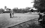 Darlington, South Park Bowling Green 1923