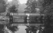 Darlington, South Park, Lake Bridge 1898