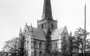 Darlington, St Cuthbert's Church 1892