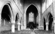 Darlington, St Hilda's Church Interior 1893