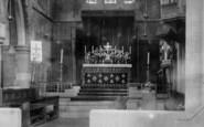 Darlington, St Hilda's Church, The Altar 1900