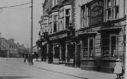 Darlington, The George Hotel, Bondgate 1906
