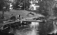 Darlington, The Lake Jetty, South Park 1929