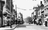 Dartford, High Street 1949