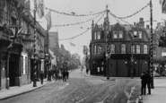 Dartford, High Street, Coronation Decorations 1911