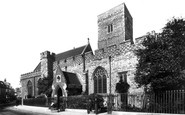 Dartford, Holy Trinity Church 1902