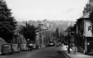 Dartford, View From West Hill c.1955
