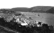 Dartmouth, From Dryer's Hill c.1874