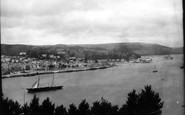 Dartmouth, From Kingswear 1889