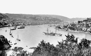 Dartmouth, From Mount Boone 1889