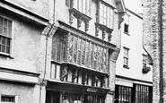 Dartmouth, Shop In Higher Street c.1875