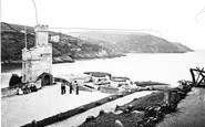 Dartmouth, The Castle c.1875