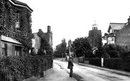 Deal, Old Town And St Leonard's Church 1918