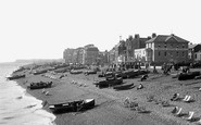 Deal, The Beach, Looking South 1924