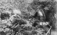 Devils Bridge, The Circular Bridge c.1890