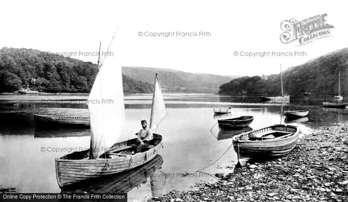 Dittisham, On The Dart 1889
