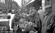 Dorchester, Market Day 1955
