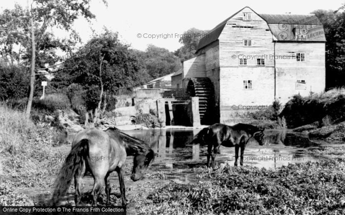 Photo of Dorking, Castle Mill c1960