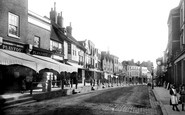 Dorking, High Street 1890