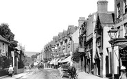 Dorking, High Street 1900