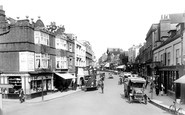 Dorking, High Street 1922