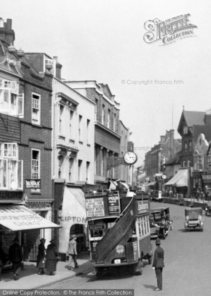 Dorking High Street 1922 Francis Frith