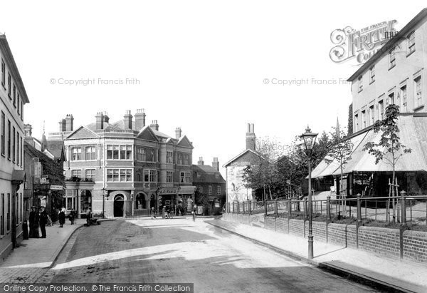 Dorking South Street 1906 Francis Frith