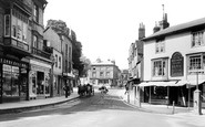 Dorking, South Street And Pump Corner 1906