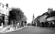 Dorking, South Street And The Wesleyan Church c.1955