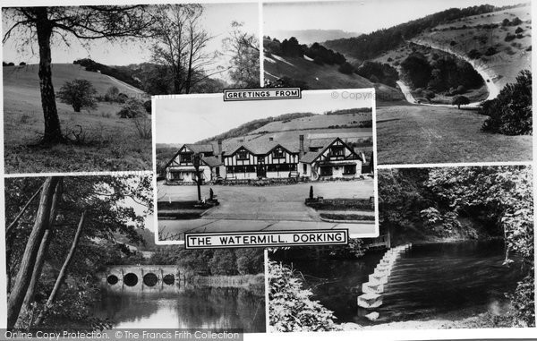 Dorking The Watermill C 1965 Francis Frith