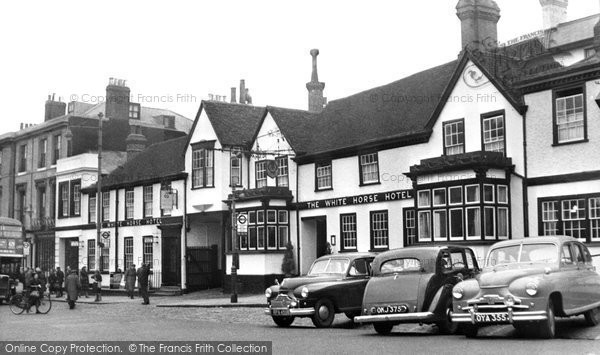 Dorking The White Horse Hotel C 1960 Francis Frith