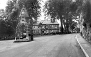 Dronfield, Corn Law Monument And Council Offices c.1955