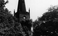 Dronfield, St John's Church c.1965