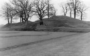 Dumfries, Lincluden Moat 1958