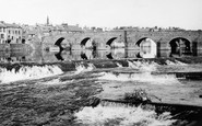 Dumfries, The Old Bridge 1951